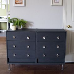 Want an affordable 6 drawer chest dresser? This simple Ikea Rast project will blow your mind!