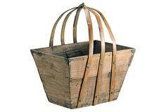 Wonderful pine basket