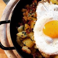 "Mahlzeit / Enjoy   The finalist number 3 of our November Instagram Mission is @bergdorfdertiere ! Roasted potatoes with an egg on top is a traditional dish of Austria called ""Erdäpfelgröstl"". Easy, isn't it  Make sure to give it a try when you are in Salzburger Land. It's delicious!  Share your #salzburgerland #goodfood moments until November 30th with us to get featured too.  #salzburg #Austria #visitaustria Z Burger, Visit Austria, Salzburg Austria, Number 3, Roasted Potatoes, 30th, Egg, November, Good Food"