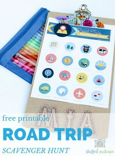 Need another way to keep the kids entertained in the car on a family road trip? Try this free printable road trip scavenger hunt on your next vacation!
