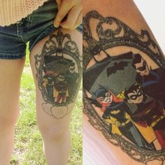 This Tattoo From The New Batman Adventures Is Very Cool - Fashionably Geek