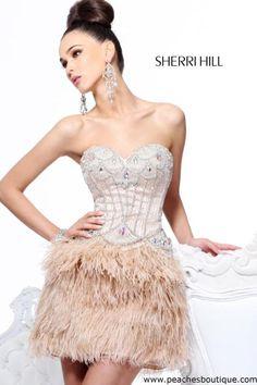 8bf2303b962 Sherri Hill Dress 21106 at Peaches Boutique Sweetheart Prom Dress