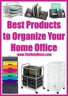 The Best Products to Organize Your Home Office|DIY|Organized Life|Home|Small Space