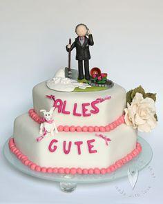 Geburtstagstorte zum 70er - Tortenfigur Geburtstag Garage, Cake, Desserts, Food, Birthday Cake Toppers, Carport Garage, Tailgate Desserts, Pie, Kuchen