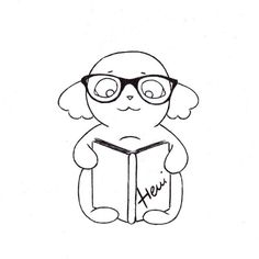 mood: nerdy ;P happy tuesday everyone! #dogs #dog #dogsofinstagram #puppy #puppies #hund #kutya #drawings #drawing #sketch #design #zeichnung #rajz #randalphthedog #henipatricia Drawing S, Drawing Ideas, Happy Tuesday, Cute Drawings, Smurfs, Nerdy, Snoopy, Puppies, Mood
