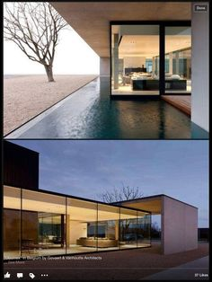 floor to ceiling glazing and protected outdoor spaces