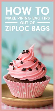 How To Make Piping Bag Tips Out Of Ziploc Bags