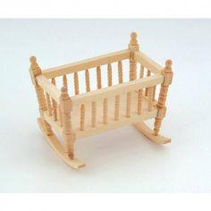 Minimum World BEF024 - 1:12 Scale Crib/Cradle
