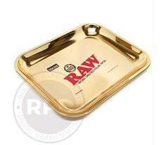 The RAW Limited Edition Gold Leaf Tray is a must have for any RAW enthusiast! This limited edition 24 kt gold plated tray was created by RAW to celebrate their ten-year anniversary. The RAW Limited Edition Gold Leaf Tray is available is two sizes. Small 11 inches by 7 inches and large 14 inches by 11 inches. Available is two color shades Gold and Rose Gold. Get yours today before they are gone! VERY limited!  ***LIMITED ONE TRAY PER CUSTOMER***