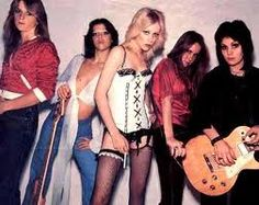 The Runaways. First all-girl rock band. Props to Joan Jett.