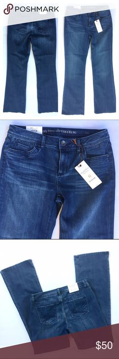Simply Vera Bootcut Jeans, NWT Simply Vera Vera Wang Bootcut Jeans, Size 6. Sky Whisker wash. New with Tags! In excellent pre-owned condition. 🎀Search my closet for your size 🎀BUNDLE and SAVE! 🎀REASONABLE offers WELCOME 🎀NO TRADES NO HOLDS 🎀Thank you for stopping by!❤️ Simply Vera Vera Wang Jeans Boot Cut