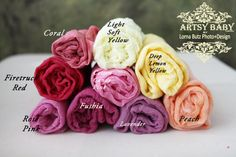 Pick 5 1 yard listing 30 colors available by greenearthstudio, $26.95