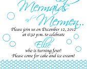 Cowgirl/Western Birthday Party Invitation. $10.00, via Etsy.
