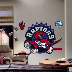 Fathead Toronto Raptors Logo Wall Graphic - 62-62213