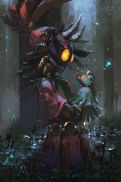 ムジュラ / Skull Kid / Majora's Mask / The Legend of Zelda The Legend Of Zelda, Legend Of Zelda Breath, Kingdom Hearts, Final Fantasy, Fantasy Art, Culture Art, Art Manga, Zelda Twilight Princess, Link Zelda