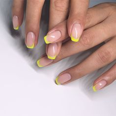 19 neon nail designs that shine brighter than your future 19 neon nail . - 19 neon nail designs that shine brighter than your future 19 neon nail designs that shine - Neon Nails, My Nails, Neon Nail Art, Rainbow Nail Art, Glitter Nails, Cute Nails, Pretty Nails, Ongles Or Rose, Neon Nail Designs