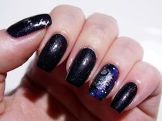 Danglefoot Nail Polish 'The Dark Side' from the upcoming Star Wars Collection.