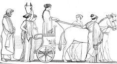 Ulisse segue Nausicaa libro VI