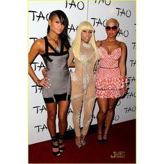 Nicki Minaj Birthday Party with Amber Rose! ❤ liked on Polyvore