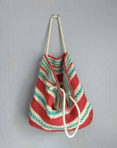 The Asbury Crochet Tote - A Free Pattern by Croyden Crochet