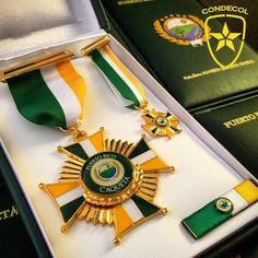 Medalla Alcaldía de Puerto Rico. Departamento del Caqueta. Colombia.