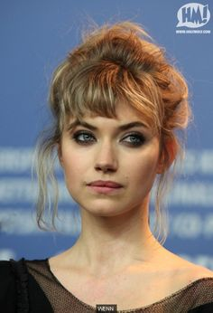 imogen poots hair - Google Search
