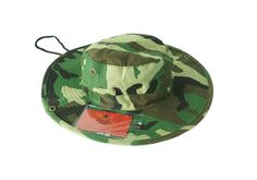 6ed5768278b Camo Aussie Safari Hat with Plastic Pockets. K K Designer Pockets