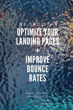 Optimize Your Landing Pages Seo Marketing, Content Marketing, Online Marketing, Digital Marketing, Affiliate Marketing, Landing Page Optimization, Seo Optimization, Google Analytics Dashboard, Content Words