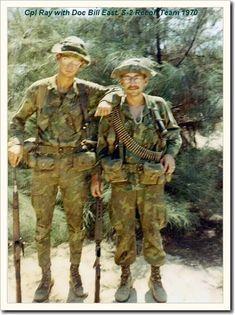 Marine Recon Vietnam   Encore M14 et ERDL en '70: