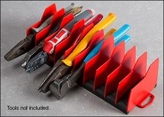 Pliers Organizer - Lee Valley Tools