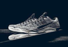 Nike Kobe 11 XI Elite Low Oreo Grey Black White Size 12.5. 822675-100 Beethoven