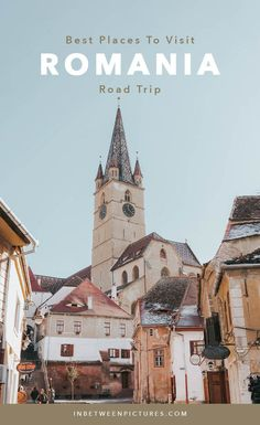Best places to visit on your Romania road trip Guide to Romania Road Trip Itinerary Sibiu Sighisoara Targu Mures Brasov Bucovina Bran Castle Dracula Castle Europe Travel Tips, European Travel, Travel Guides, Budget Travel, Travel Tours, Travel Destinations, Sibiu Romania, Romania Travel, Top Place