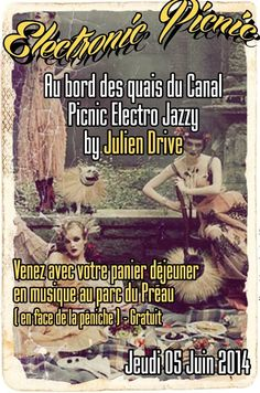 Electronic Picnic. Le jeudi 5 juin 2014 à Troyes.  12H00