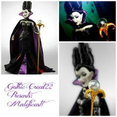 Maleficent Disney Villains Designer Limited Edition Doll #3380 Sealed New + Bag! #Disney #Dolls