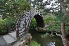 Picture of Wooden Bridge at Japanese Garden in San Francisco Golden Gate Park 2 stock photo, images Golden Gate Park, San Francisco Tours, Living In San Francisco, The Places Youll Go, Places To See, Places To Travel, Sf Travel, Parcs, Gardens