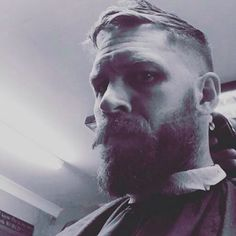 Tom Hardy at the barber - Sept. 2015 More