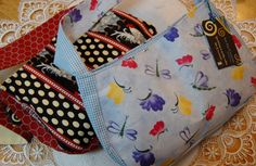 Gusset Shoulder Bags by MistyMeadowTreasures on Etsy