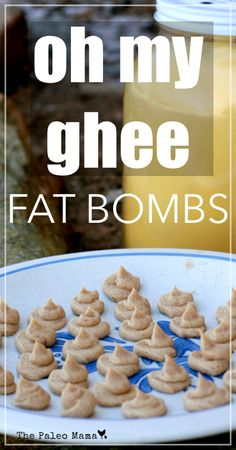 Oh My Ghee Fat Bombs - Ghee is a extremely nutritious food! These ghee fat bombs have Fermented Cod Liver Oil (FCLO) and raw honey in them. A great way to get your whole family the healthy fats they need. Paleo Recipes, Low Carb Recipes, Whole Food Recipes, Snack Recipes, Paleo Treats, Healthy Snacks, Healthy Fats, Healthy Choices, Gaps Diet
