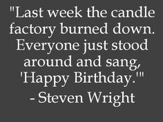 Funny birthday quote