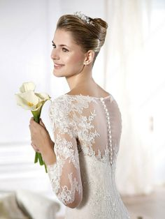 Trumpet/Mermaid Bateau Tulle Lace Court Train Beading Wedding Dresses - HAIR..