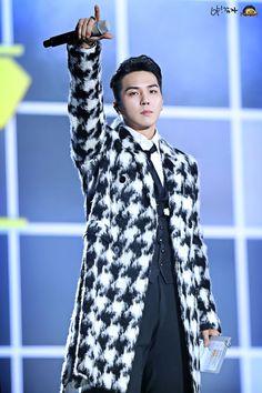 2014: Song Mino WINNER SBS Gayo Daejun