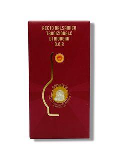 Aceto Balsamico Tradizionale Di Modena Dop  AFFINATO INVECCHIAMENTO MINIMO 12 ANNI