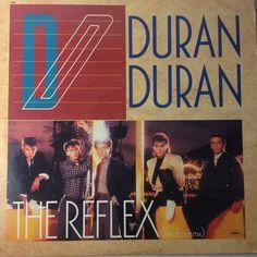 "DURAN DURAN LP 12"" single record The Reflex dance mix"