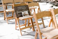 Seat saved in loving memory of the bride's father | Spence Cabin Wedding | Appalachian Clubhouse Reception |  Smoky Mountain Wedding | Fall Wedding | Erin Morrison Photography | Absolute Wedding Perfection