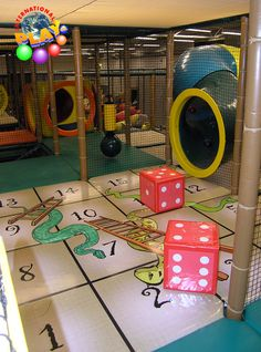 snakes and ladders for the cubby floor