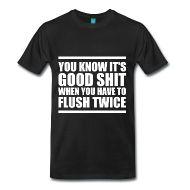T-Shirts ~ Men's Premium T-Shirt ~ Good Shit T-Shirt   Poop Gifts