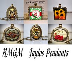 'BMGM Jaylos Pendants' is going up for auction at 11am Thu, Nov 1 with a starting bid of $10.