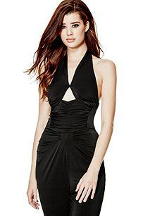 Connor Crossover Jumpsuit   GUESS.com