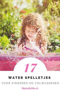 Waterspelletjes; 17 coole spelletjes voor kinderfeestjes of volwassenen buiten - Mamaliefde.nl