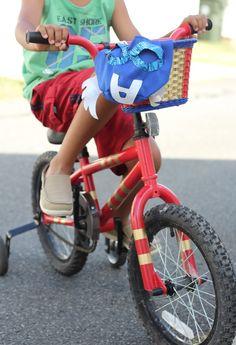 DIY Superhero Kid's Bike - Simple Stylings